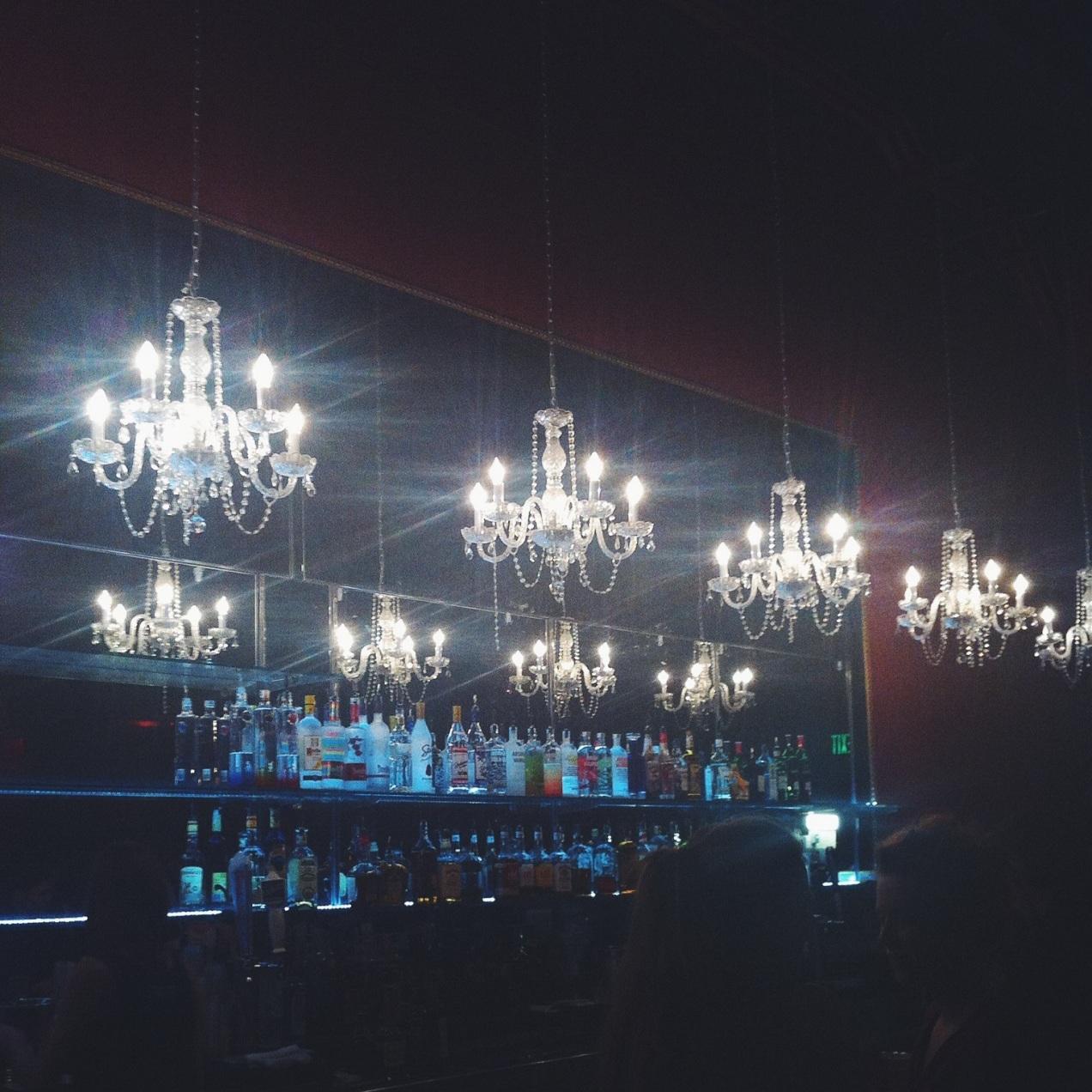 Such a pretty bar.